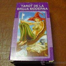 Barajas de cartas: BARAJA DEL TAROT DE LA BRUJA MODERNA -78 CARTAS -PRECINTADAS.-. Lote 26544701