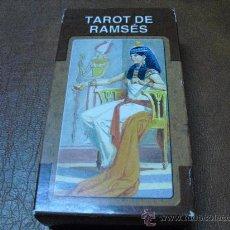 Barajas de cartas: BARAJA DEL TAROT DE RAMSÉS. -78 CARTAS -PRECINTADAS.-. Lote 26565788