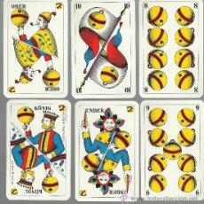 Barajas de cartas: RARA BARAJA DE 36 CARTAS ALEMANA COMPLETA. Lote 153262798