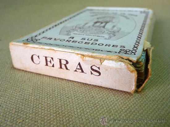 Barajas de cartas: BARAJA CERVANTES, COMPLETA, DORSO, 48 NAIPES, OBSEQUIO, NUESTRA SEÑORA DE LAS CANDELAS, PUBLICITARIA - Foto 8 - 27440057