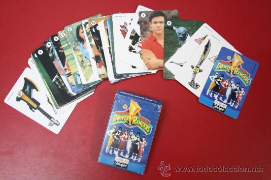 BARAJA POWER RANGERS DE NAIPES FOURNIER 1995 (Juguetes y Juegos - Cartas y Naipes - Otras Barajas)