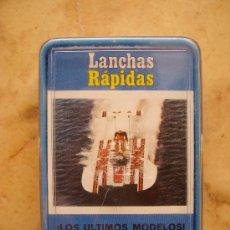Barajas de cartas: BARAJAS HERACLIO FOURNIER LANCHAS RÁPIDAS. Lote 27305653