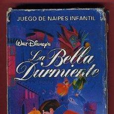 Barajas de cartas: BARAJA INFANTIL , JUEGO DE LA BELLA DURMIENTE FOURNIER, 32 NAIPES COMPLETA, ORIGINAL ,VER FOTOS, B . Lote 27376179
