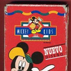 Barajas de cartas: BARAJA INFANTIL , JUEGO MICKEY KIDS FOURNIER , 32 NAIPES COMPLETA, ORIGINAL ,VER FOTOS, B . Lote 27376259