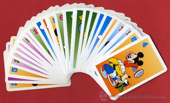 Barajas de cartas: BARAJA INFANTIL , JUEGO MICKEY KIDS FOURNIER , 32 NAIPES COMPLETA, ORIGINAL ,VER FOTOS, B - Foto 2 - 27376259