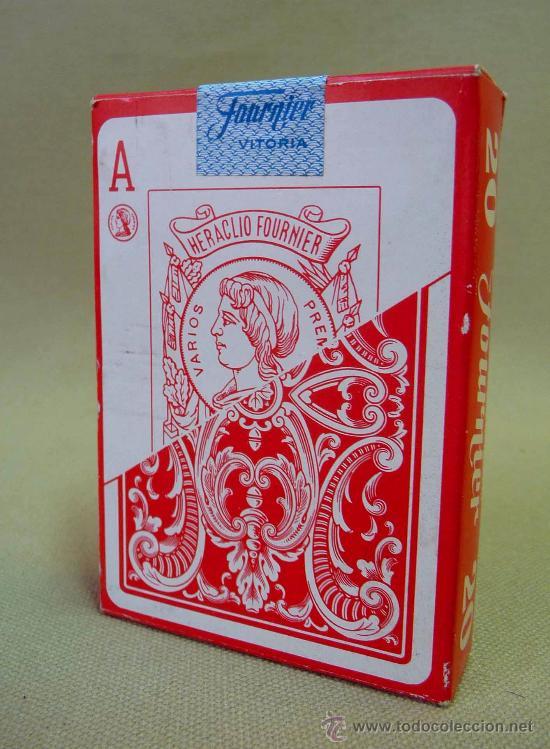 Barajas de cartas: BARAJA, NAIPES, CARTAS, FOURNIER, POKER ESPAÑOL, Nº 20 - Foto 4 - 27705307