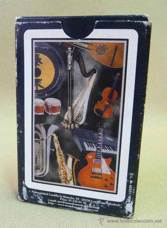 Barajas de cartas: CARTAS, BARAJA, CARTAS MUSICALES, MUNDO MUSICAL, 40 CARTAS, NAIPES EDUCATIVOS - Foto 2 - 27705236