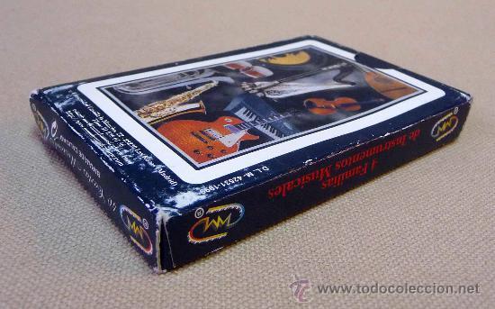 Barajas de cartas: CARTAS, BARAJA, CARTAS MUSICALES, MUNDO MUSICAL, 40 CARTAS, NAIPES EDUCATIVOS - Foto 3 - 27705236