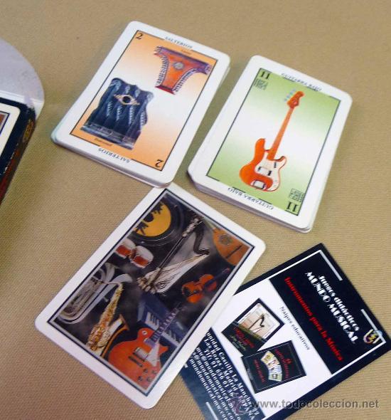 Barajas de cartas: CARTAS, BARAJA, CARTAS MUSICALES, MUNDO MUSICAL, 40 CARTAS, NAIPES EDUCATIVOS - Foto 5 - 27705236