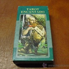 Barajas de cartas: BARAJA. TAROT ENCANTADO 78 CARTAS, LO SCARBEO -- PRECINTADO--. Lote 27489035