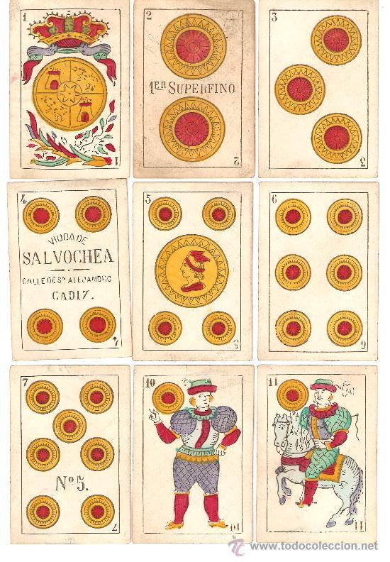 BARAJA DE COLECCION ANTIGUA RARISIMA (Juguetes y Juegos - Cartas y Naipes - Baraja Española)