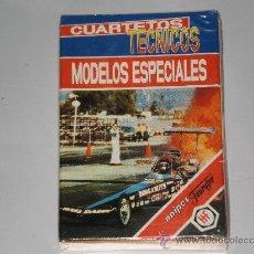Barajas de cartas: .BARAJA INFANTIL FOURNIER - MODELOS ESPECIALES , CUARTETOS TECNICOS - A ESTRENAR. Lote 27761288