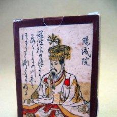 Barajas de cartas: BARAJA HYAKUNIN ISSHU UTA KARUTA, JAPON, SIGLO XVIII, DIPUTACION FORAL DE ALAVA, FASCIMIL, 60 NAIPES. Lote 54670093