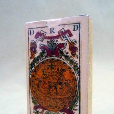 Barajas de cartas: BARAJA VALENCIANA, SIGLO XVIII, 1778, FASCIMIL, 48 NAIPES. Lote 80706644