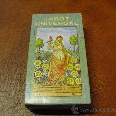 Barajas de cartas: BARAJA TAROT UNIVERSAL .- LO SCARABEO .- 78 CARTAS PRECINTADAS.-. Lote 27885549