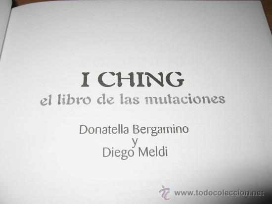 baraja i ching y libro de las mutaciones con 32 - Comprar Otras ...