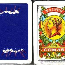 Barajas de cartas: PLATILLOS - BARAJA ESPAÑOLA DE 40 CARTAS. Lote 27923170