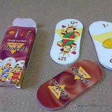 Barajas de cartas: BARAJA, ESPAÑOLA, BATIDOS, CHOLECK, 40 CARTAS. Lote 29359608