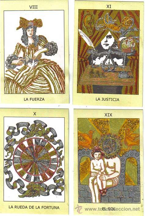 Barajas de cartas: TAROT INICIATICO DE ALMA AJO, 22 ARCANOS MAYORES, 11ª BARAJA COLOREADA A MANO, edicion 2010 - Foto 2 - 28019375