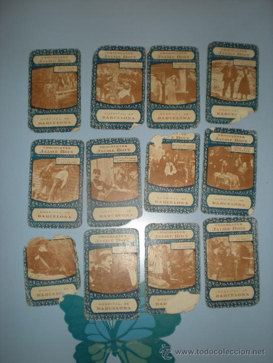 Barajas de cartas: Baraja Cinematográfica. Años 30. Chocolates Jaime Boix. - Foto 3 - 28157764