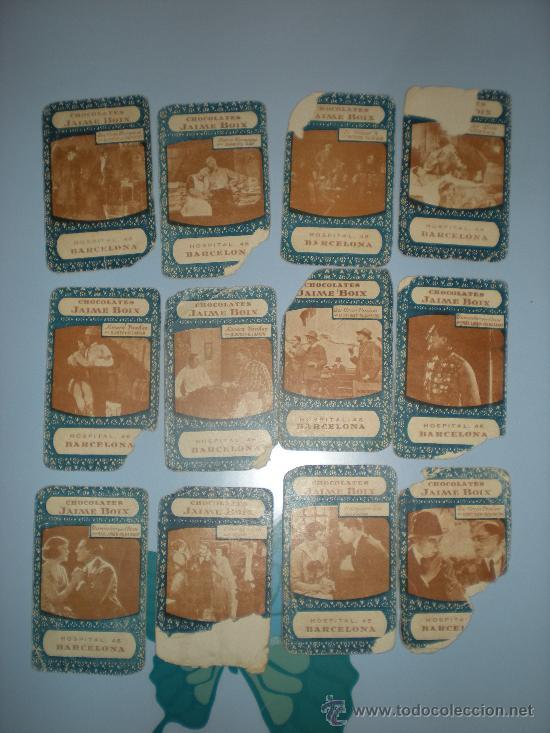 Barajas de cartas: Baraja Cinematográfica. Años 30. Chocolates Jaime Boix. - Foto 5 - 28157764