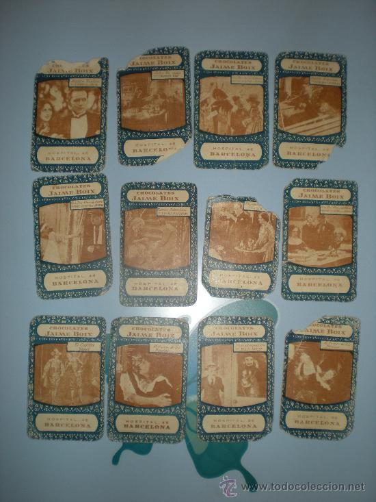 Barajas de cartas: Baraja Cinematográfica. Años 30. Chocolates Jaime Boix. - Foto 9 - 28157764