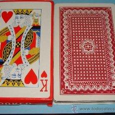 Barajas de cartas: BARAJA DE CARTAS DE PÓKER GIGANTE. TAMAÑO MUY GRANDE. 54 NAIPES. . Lote 28269320