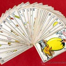 Barajas de cartas: BARAJA ZOOLOGICA DE MURO, ORIGINAL, COMPLETA, 40 NAIPES, SIN PUBLICIDAD EN EL REVERSO. RB. Lote 28377583