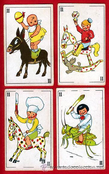 Barajas de cartas: BARAJA ZOOLOGICA DE MURO, ORIGINAL, COMPLETA, 40 NAIPES, SIN PUBLICIDAD EN EL REVERSO. RB - Foto 11 - 28377583
