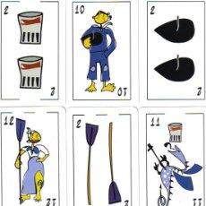 Barajas de cartas: BARAJA ESPAÑOLA MARINERA VASCA-AÑO2011. Lote 180894076