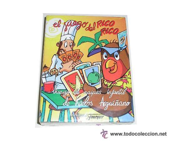 EL JUEGO DE RICO RICO KARLOS ARGUIÑANO BARAJA HERACLIO FOURNIER VICTORIA - NUEVA A ESTRENAR (Juguetes y Juegos - Cartas y Naipes - Otras Barajas)