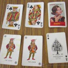 Barajas de cartas: BARAJA 54 CARTAS .. HERACLIO FOURNIER .. PROPAGANDA VETERANO. Lote 28739363