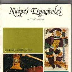 Barajas de cartas: LIBRO LOS NAIPES ESPAÑOLES- EDITADO POR INDUBAN-AÑO 1975.-. Lote 28775788