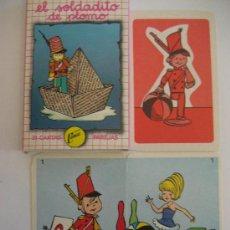 Barajas de cartas: BARAJA CARTAS. JUEGO DE PAREJAS. EL SOLDADITO DE PLOMO. NAIPES COMAS.. Lote 53026292