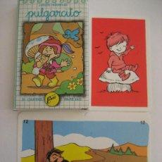 Barajas de cartas: BARAJA CARTAS. JUEGO DE PAREJAS. PULGARCITO. NAIPES COMAS.. Lote 114906731