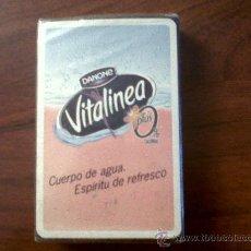 Barajas de cartas: BARAJA CARTAS-NAIPE ESPAÑOL-NAIPES COMAS PUBLICIDAD VITALINEA-50 CARTAS SIN ABRIR. Lote 28880755