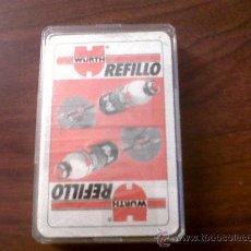 Barajas de cartas: BARAJA CARTAS PUBLICIDAD WURTH-REFILLO-SIN ABRIR. Lote 28880866