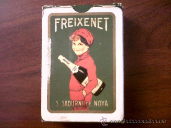 BARAJA CARTAS PUBLICIDAD FREIXENET-NAIPES COMAS 54 CARTAS (Juguetes y Juegos - Cartas y Naipes - Baraja Española)