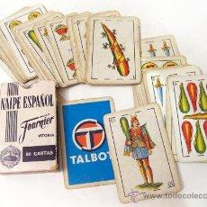 Barajas de cartas: BARAJA PUBLICITARIA DE AUTOMOVILES TALBOT - INCOMPLETA. Lote 28887020