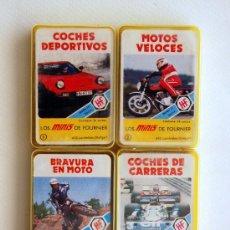 Barajas de cartas: LOTE CON LAS 4 PRIMERAS MINI BARAJAS DE LA SERIE MINIS DE FOURNIER. AÑOS 70. Lote 52303157