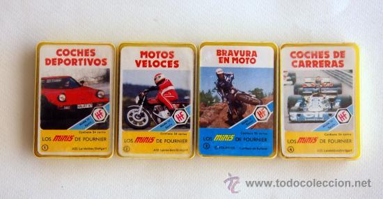 Barajas de cartas: Lote con las 4 primeras mini barajas de la serie Minis de Fournier. Años 70 - Foto 2 - 52303157