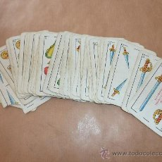 Barajas de cartas: ANTIGUA BARAJA DE CARTAS HERACLIO FOURNIER VITORIA.. Lote 28947772