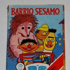 Barajas de cartas: BARAJA INFANTIL BARRIO SESAMO. Lote 29011244
