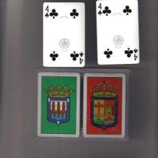 Barajas de cartas: DOBLE BARAJA ESCUDOS LA RIOJA Y LOGROÑO.-AÑOS 70. Lote 29023413