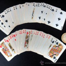 Barajas de cartas: BARAJA FRANCESA MINIATURA * NAIPES COMAS * BARCELONA - COMPLETA. Lote 29132714