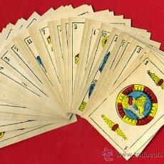 Barajas de cartas - BARAJA NAIPES, ESPAÑOLA , CLASICA SIGLO XIX ,48 CARTAS, RARA ,ORIGINAL ,VER FOTOS , F - 29151347