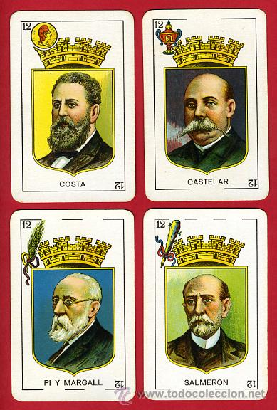 Barajas de cartas: BARAJA NAIPES, HIJOS SIMEON DURA REPUBLICA ESPAÑOLA 1931, 48 CARTAS, REPUBLICANA,ORIGINAL ,VER FOTOS - Foto 14 - 29150700