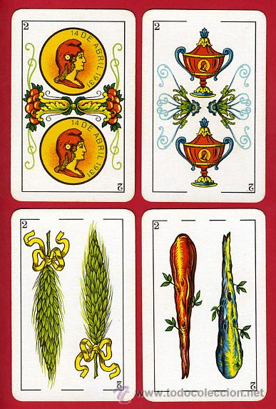 Barajas de cartas: BARAJA NAIPES, HIJOS SIMEON DURA REPUBLICA ESPAÑOLA 1931, 48 CARTAS, REPUBLICANA,ORIGINAL ,VER FOTOS - Foto 4 - 29150700