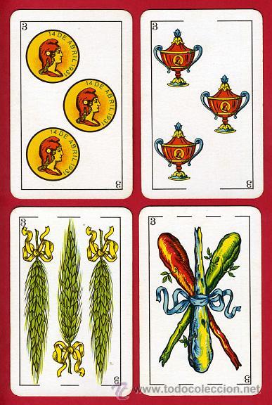 Barajas de cartas: BARAJA NAIPES, HIJOS SIMEON DURA REPUBLICA ESPAÑOLA 1931, 48 CARTAS, REPUBLICANA,ORIGINAL ,VER FOTOS - Foto 5 - 29150700