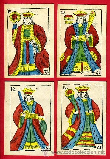 Barajas de cartas: BARAJA NAIPES, ESPAÑOLA , CLASICA SIGLO XIX ,48 CARTAS, RARA ,ORIGINAL ,VER FOTOS , F - Foto 14 - 29151347